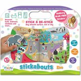 Stickere Zoo Stickabouts Fiesta Crafts FCT-2874